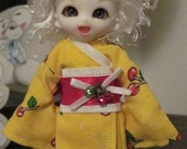 Cherry Lemonade kimono for pukipuki