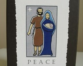 Christmas Cards - Holy Family - Set of 12