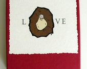 Christmas Cards - LOVE - Set of 12