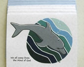 Dolphin - Early Christian Symbol - Card Set of 4