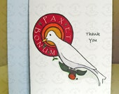 Thank You - St. Francis of Assisi - Single Card