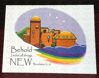 Sympathy Card - New Jerusalem