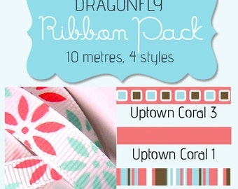 DRAGONFLY American Crafts Ribbon Pack