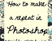 How to make a repeat in Photoshop - Tutorial