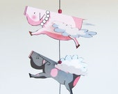 DIY Printable PDF Pig Mobile - Lord and Lady Muck Rainy Day Project