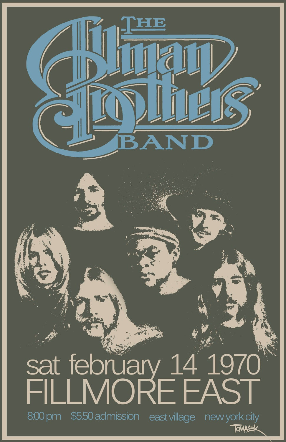 Allman Brothers Tour Dates