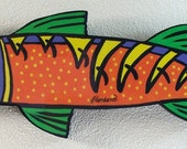 Barracuda wall hanging
