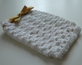 Small crochet case for phone, gift or soap