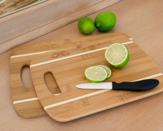 Bamboo Cutting Boards - Personalized