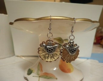 SALE   Silver Bird Earrings