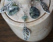 Dressing Up Nature - Dangle Necklace