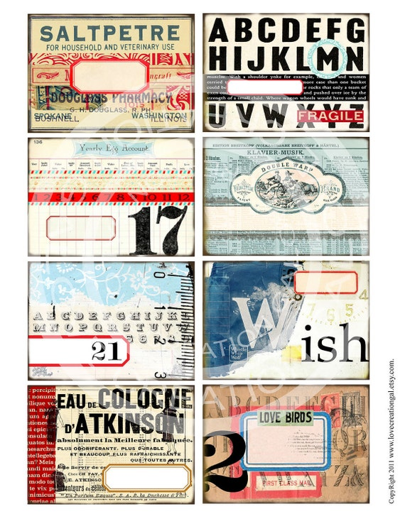Vintage Paris French ledge Background Note Cards Jar Box Labels Thank You illustration Gift Tags Digital Collage Sheet clip art Images Sh142