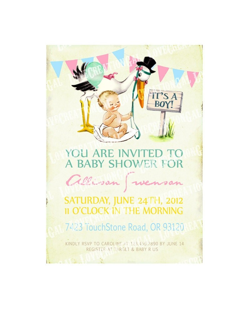 Stork Party Invitations about to pop baby shower invitations – Stork Party Invites