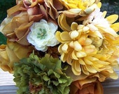 fall mix bridesmaids bouquet set, customized, RESERVED M/K