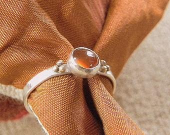 Carnelian Toe Ring