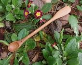 Peanut Butter & Jelly PBJ Spoon-Handmade from Cherry Wood