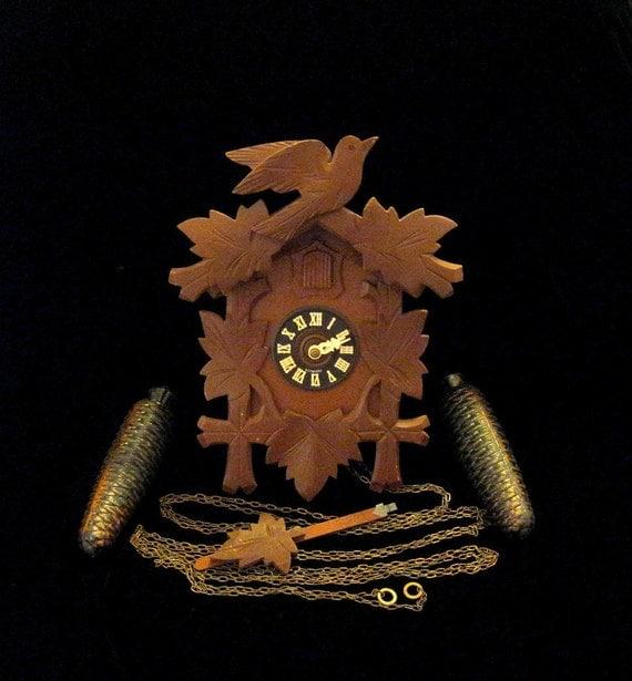 8 day Cuckoo Clock - 9