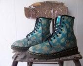 Floral Original DR Martens Ankle Boots