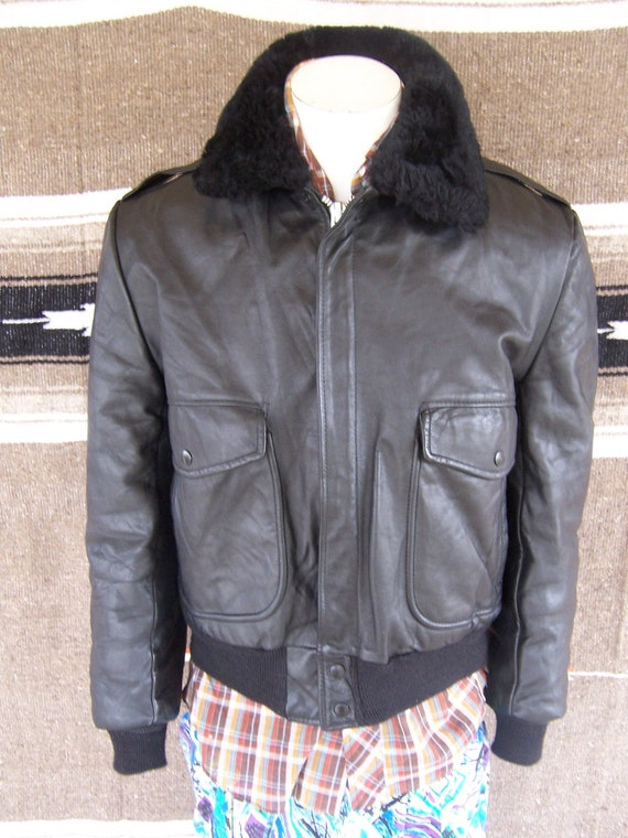 RESERVED Vintage 60s COOPER Bomber Leather Jacket