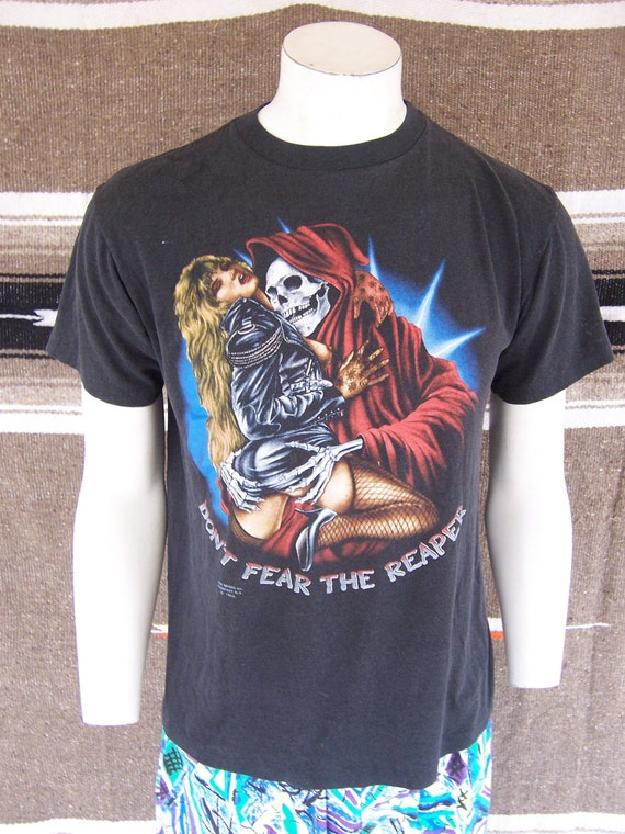 Vintage 80s Dont Fear the Reaper Shirt