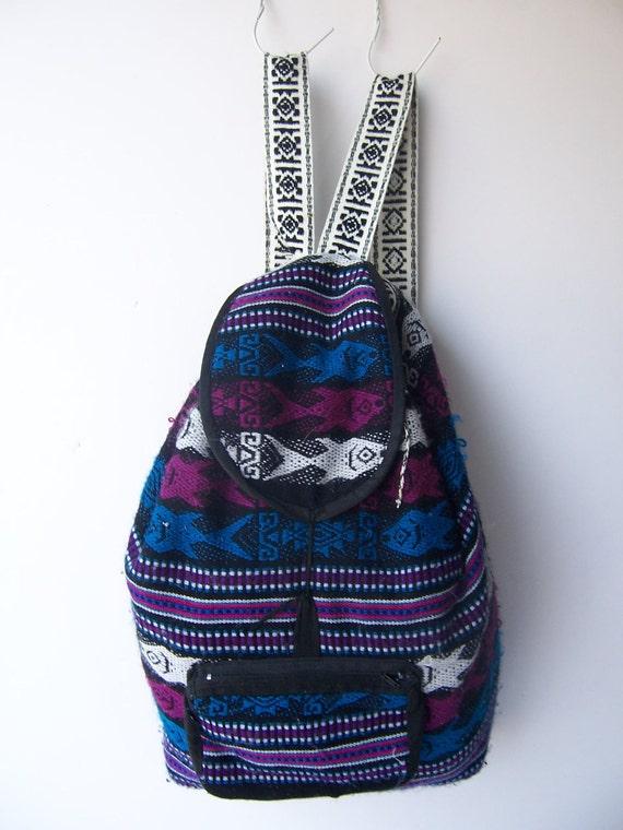 Vintage Southwestern Festival Backpack