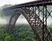 New River Gorge Bridge, West Virginia - 11x14 inch Photographic Print by Brendan Reals