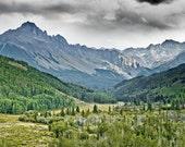 Colorado Rocky Mountains, San Juan Range, Mount Sneffels - 11x14 inch Photographic Print by Brendan Reals