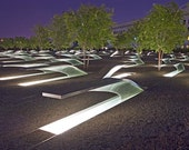 """Memorial to Lives Lost on 9/11 at the Pentagon, Arlington, Virginia - 11"""" x 14"""" Photographic Print by Brendan Reals"""
