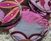 Variety Pack Reusable Nursing Pads-3 pairs