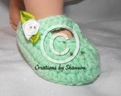 Instant Download Baby Mary Jane Shoe Bootie Slipper Crochet Pattern Newborn to 12 months