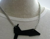Cuts Like a Knife, Black Record Necklace