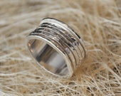 Spinner handmade silver Ring