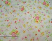 SALE Vintage Pillowcase Pair: Multi-Colored Floral