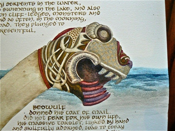 an analysis of the anglo saxon hero as defined by beowulf