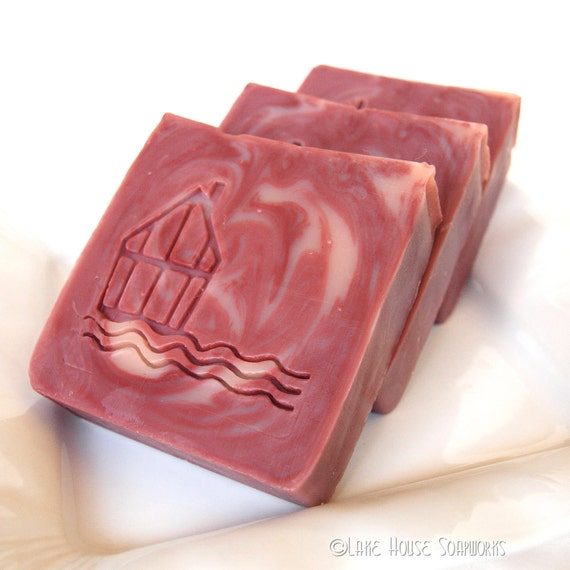 Berry Fizz Cold Process Soap with Shea Butter and Avocado Oil