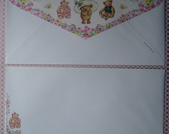 Mary's Bears ( 3 ) Business Size Envelopes