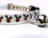 Reindeer Cat/XSmall Dog Collar
