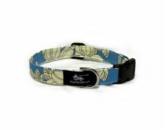 Blue Hawaiian Collar