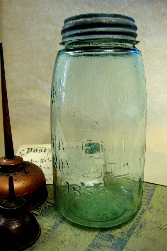 1858 Mason Jar (Antique over 150 years old)