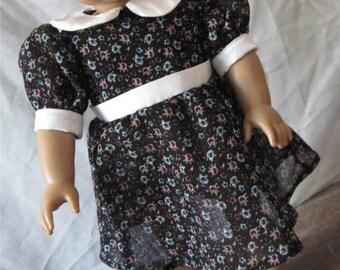 Floral Dress for 18 inch dolls