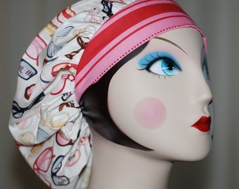 EYEGLASS Banded Bouffant Surgical Cap by Nurseheadwear