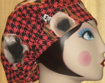 THE DOG Banded Bouffant Surgical Cap by Nurseheadwear