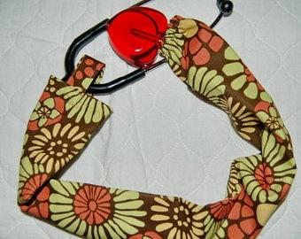 Fall Daisy Stethoscope Sock