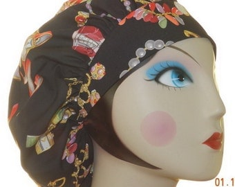 Glam It Up Banded Bouffant Surgical Cap