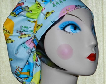 Big City Banded Bouffant Surgical Cap