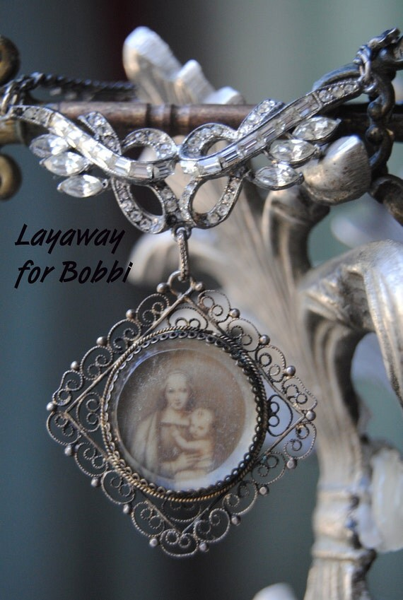 SOLD--Layaway  for Bobbi--Mother and Child--PLEASE Do Not Purchase unless you are BOBBI