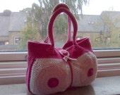 Breast (Cancer Awareness) Handbag - PDF Crochet Pattern