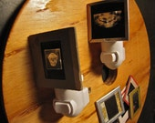 Creepy Night-Light: UpCycled Vintage Medical Slides