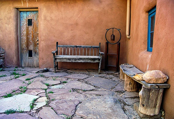 Meditative Courtyard