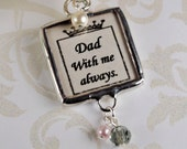 Victorian Wedding Bouquet Photo Charm Bridal Bouquet Memorial Photo Keepsake